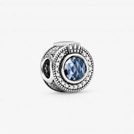 Pandora 799058C01 Charm Funkelndes Blaues Crown O Silber
