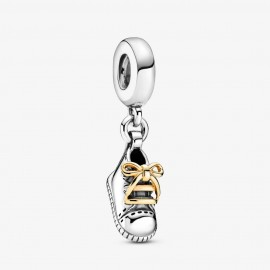 Pandora Shine 799075C00 Charm-Anhänger Babyschuh Silber