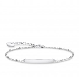 Thomas Sabo A1975-001-21 Armband Damen Classic Dots Silber