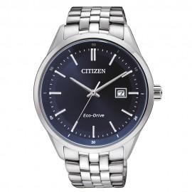 Citizen BM7251-53L Eco-Drive Herren-Uhr Elegant Analog Quarz mit Edelstahl-Band