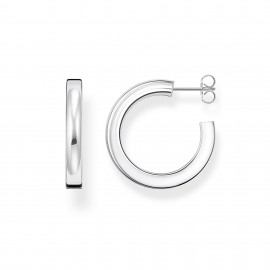 Thomas Sabo CR642-001-21 Ohrringe Creolen Classic Klein Sterling-Silber