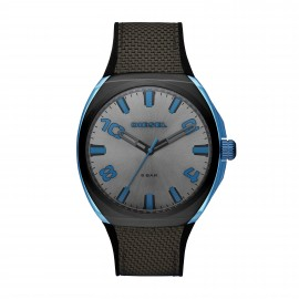 Diesel DZ1885 Heren-Uhr Stigg Blue Tech Analog Quarz mit Nylon-Armband Ø 48 mm