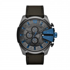 Diesel DZ4500 Herren-Uhr Mega Chief Blue Tech Chronograph Datum Ø 51 mm