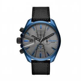 Diesel DZ4506 Herren-Uhr MS9 Chrono Aluminium Quarz mit Nylon-Armband Ø 48 mm