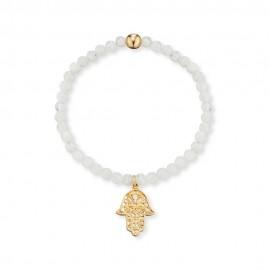 Engelsrufer ERB-HAND-G-MO Armband Damen Hand Fatimas Mondstein Gold