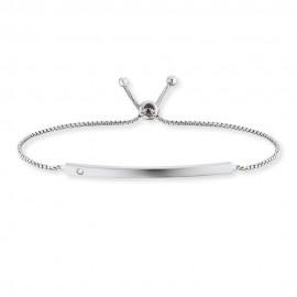 Engeslufer ERB-LILID-ZI Armband Damen ID Silber mit Zirkonia