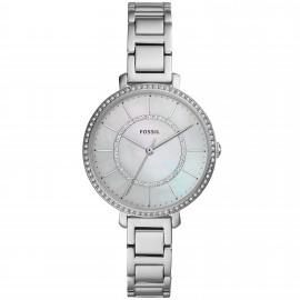 Fossil ES4451 Damen-Uhr Jocelyn Analog Quarz mit Edelstahl-Armband Ø 36 mm