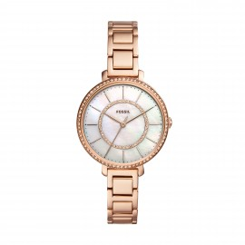 Fossil ES4452 Damen-Uhr Jocelyn Analog Quarz mit Edelstahl-Armband Ø 36 mm