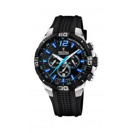 Festina F20523/4 Herren-Uhr Chrono Bike Chronograph Quarz Silikon-Armband