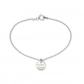 Beka & Bell 5022 Armband Lieblingsstück Familienmensch Silber 19 cm