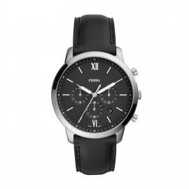Fossil FS5452 Herren-Uhr Neutra Chronograph Quarz mit Leder-Band Ø 44 mm