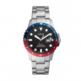 Fossil FS5657 Herren-Uhr FB-01 Analog Quarz mit Edelstahl-Band Ø 42 mm