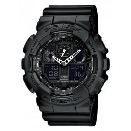 Casio GA-100-1A1ER Herren-Uhr G-Shock Classic Chronograph Resin-Armband