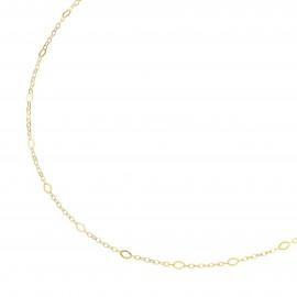 Karat 99037640450 Halskette Fantasiekette Diamantiert 375/- Gelb-Gold