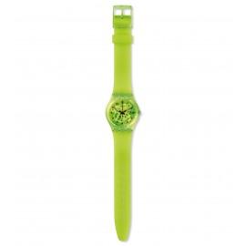 Swatch GG227 Armband-Uhr Lemon Flavour Analog Quarz Silikon-Armband
