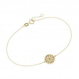 Karat 92019740190 Armband Damen Coin Ornament 375/- Gelb-Gold