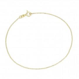 Karat 92007840190 Armband Damen Kugelkette Diamantiert 375/- Gelb-Gold