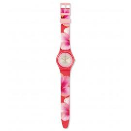 Swatch GZ321 Armbanduhr Fiore Di Maggio Quarz Silikon Armband Ø 34,00 mm