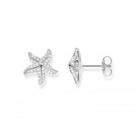 Thomas Sabo SCH150236 Ohrringe Earring Studs Damen Seestern Sterling-Silber