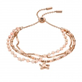 Fossil JF03518791 Armband Damen Beach Girl Rosé Vergoldet