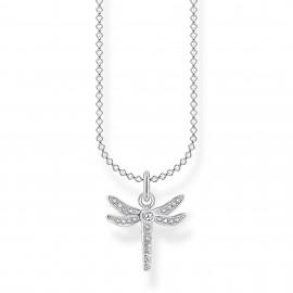 Thomas Sabo KE2044-051-14 Halskette mit Anhänger Libelle Sterling-Silber
