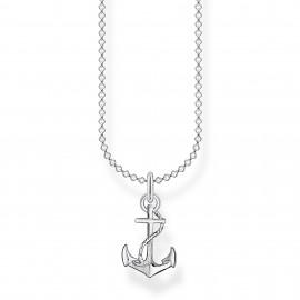 Thomas Sabo KE2055-001-21 Halskette mit Anhänger Anker Sterling-Silber