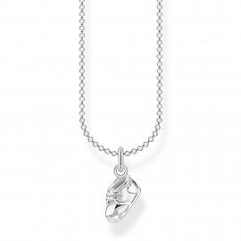 Thomas Sabo KE2065-001-21 Halskette mit Anhänger Babyschuh Sterling-Silber
