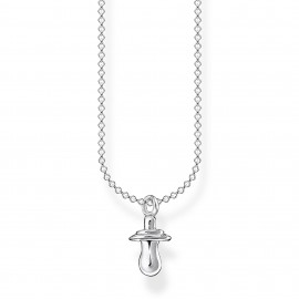 Thomas Sabo KE2066-001-21 Halskette mit Anhänger Schnuller Silber