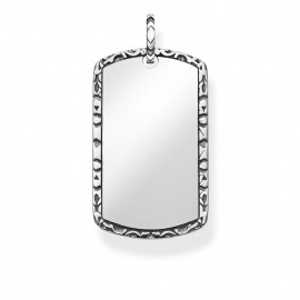 Thomas Sabo Rebel PE837-637-21 Anhänger Dog Tag Sterling-Silber