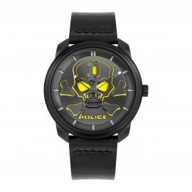 Police PL15714JSB.02 Herrenuhr Bleder Analog Quarz mit Leder-Armband