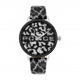 Police PL16028MSTB.02 Damen-Uhr Bagan Analog Quarz mit Leder-Armband