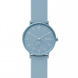 Skagen SKW6509 Unisex-Uhr Aaren Kulor Analog Quarz Silikon-Band Ø 41 mm