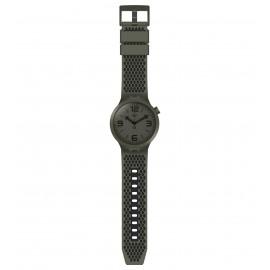 Swatch SO27M100 Armbanduhr BBBubbles Analog Quarz Silikon Armband Ø 47,00 mm