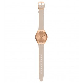 Swatch SYXG101 Armbanduhr Skinrosee Analog Quarz Silikon-Band Ø 38,00 mm