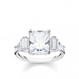 Thomas Sabo TR2262-051-14 Ring Damen Weiße Steine Silber