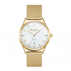 Thomas Sabo WA0361-264-202 Damen-Uhr Code TS Klein Analog Quarz Gelbgold