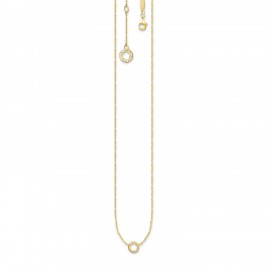 Thomas Sabo X0250-413-39 Charm-Kette Kreis Charm Club Silber-Gold