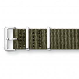Thomas Sabo ZWA0311-276-6 Ersatzband Uhrenarmband Code TS Nato Khaki 20 mm