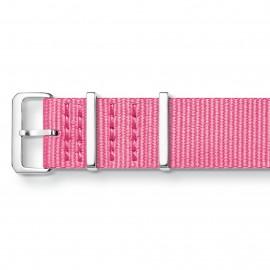 Thomas Sabo ZWA0313-276-9 Ersatzband Uhrenarmband Code TS Nato Pink 20 mm
