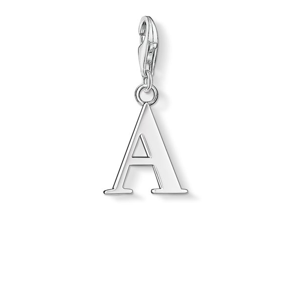 Thomas Sabo 0175-001-12 Charm-Anhänger Buchstabe A Sterling-Silber