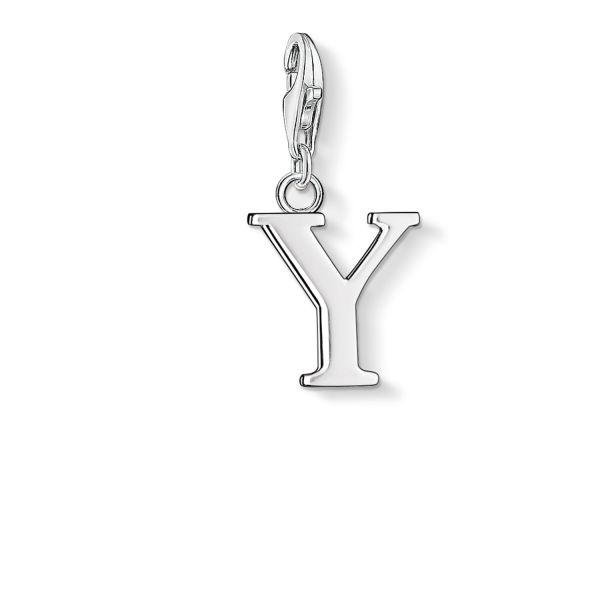 Thomas Sabo 0199-001-12 Charm-Anhänger Buchstabe Y Sterling-Silber