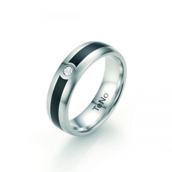 TeNo Solitär Brillant Ring 064.2617.D51 Gr. 56