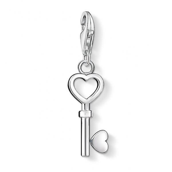 Thomas Sabo 0888-001-12 Charm-Anhänger Damen Schlüssel Sterling-Silber