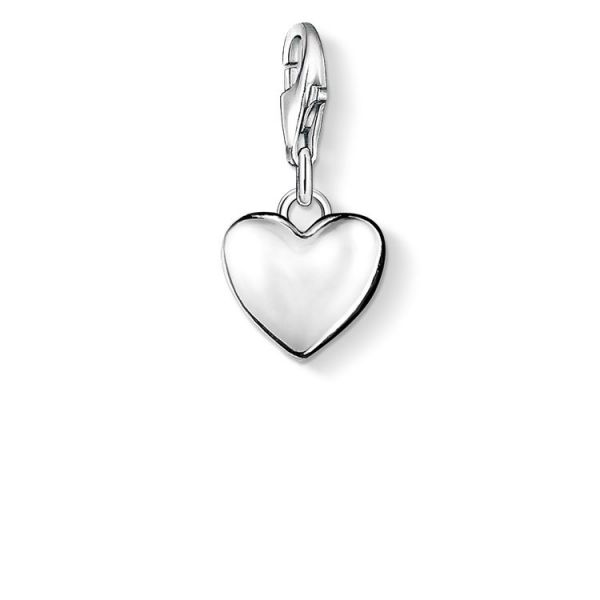 Thomas Sabo 0913-001-12 Charm-Anhänger Herz Sterling-Silber