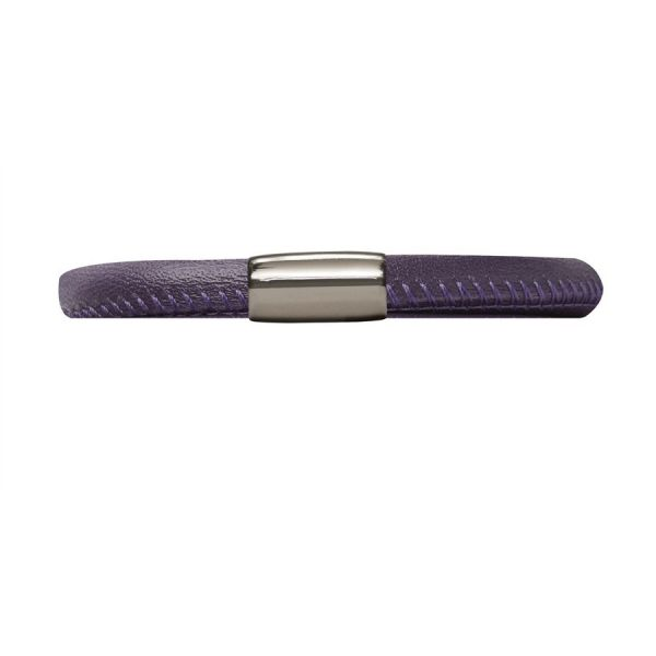 Endless 12106-19 Leder-Armband Lila 19 cm