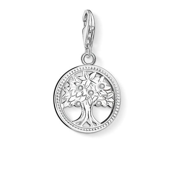 Thomas Sabo 1303-051-14 Charm-Anhänger Lebensbaum Silber