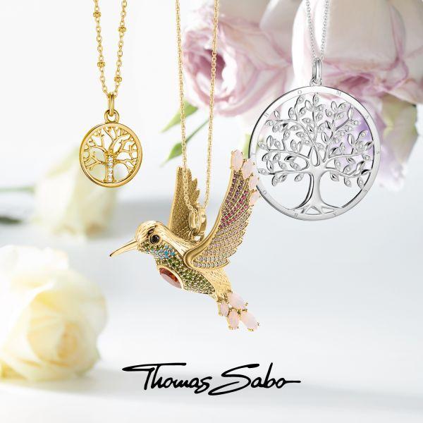 Thomas Sabo X0268-001-21 Charm-Kette Sterling-Silber
