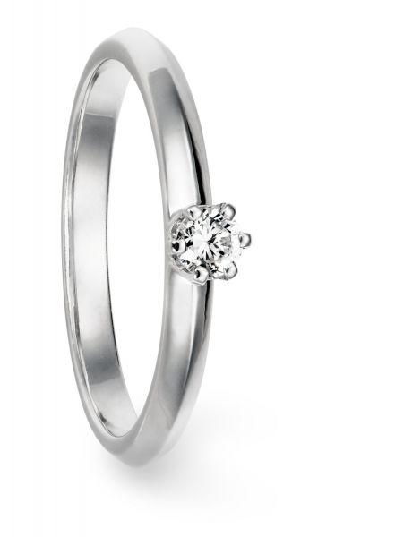 JK Verlobungsring 925/- Sterling Silber