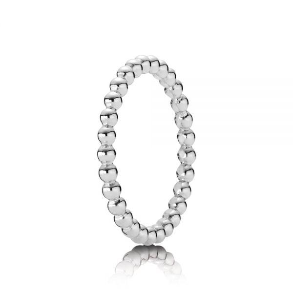 Pandora 190615 Ring Damen Metall-Perlen Silber
