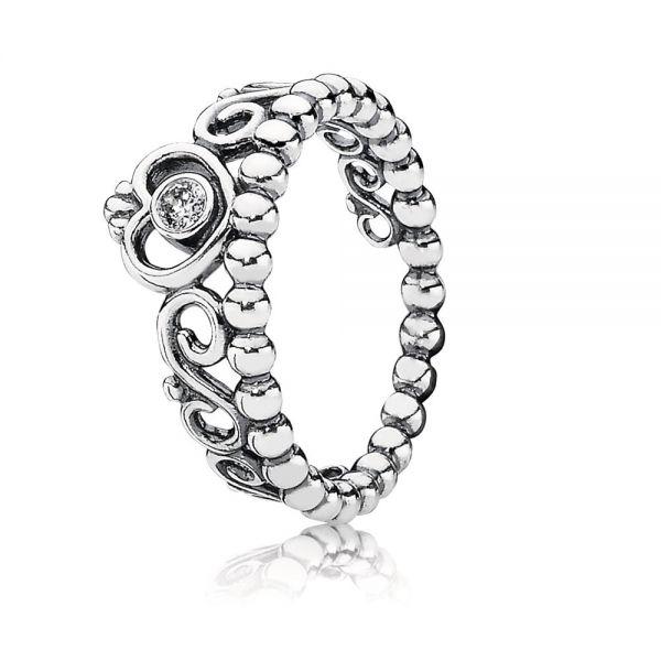 Pandora 190880CZ Ring Diadem Silber